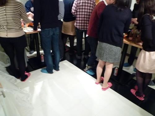 5月2日たこ焼きパーティーの様子